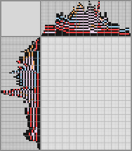 Японский кроссворд «Дама червей»
