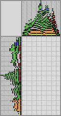 Японский кроссворд «Динозаврик»