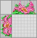 Японский кроссворд «Цветочек»